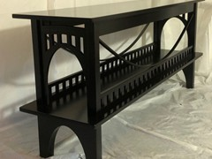 All Black High Gloss table